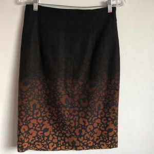 Classiques Entier Animal Print Straight Skirt 6